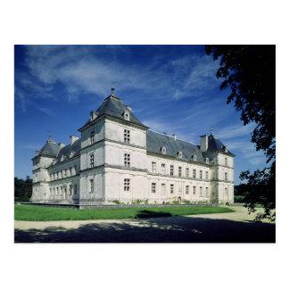 Exterior of the Chateau, built c.1546 Postcard