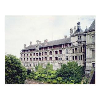 Exterior of the Facade des Loges Postcard