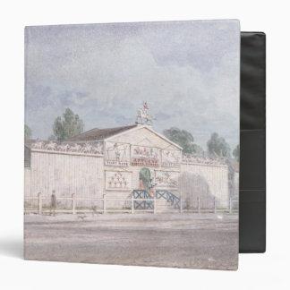 Exterior view of Astley's Amphitheatre, 1777 Binder