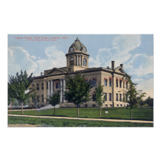 Exterior View of Canyon County Court House Poster