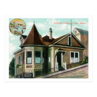 Exterior View of Executive MansionSitka, AK Postcard