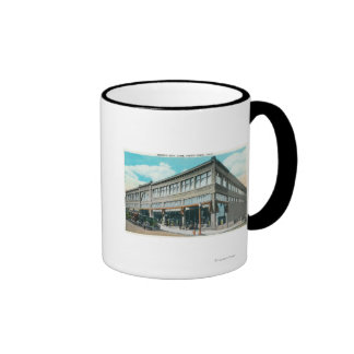 Exterior View of Holman's Department Store Mugs