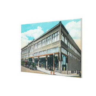 Exterior View of Holman's Department Store Stretched Canvas Prints