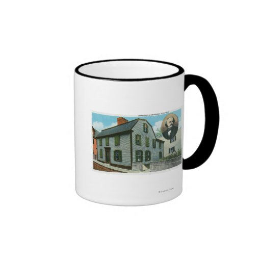 Exterior View of Nathaniel Hawthorne's Mugs