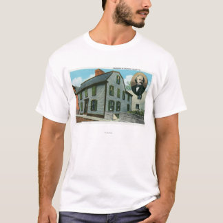Exterior View of Nathaniel Hawthorne's T-Shirt