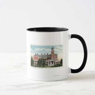 Exterior View of St. Vincent Hospital Mug