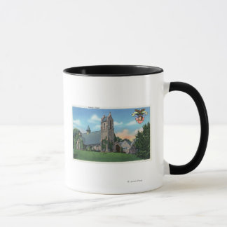 Exterior View of the Catholic Chapel Mug