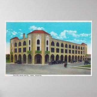 Exterior View of the Del Ming HotelYuma, AZ Poster