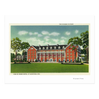 Exterior View of the Gideon Putnam Hotel Postcard