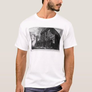 Exterior view of the great Basilica of St. Peter T-Shirt