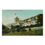 Exterior View of the Greystone Winery Poster