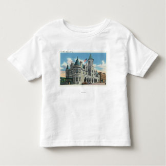 Exterior View of the Post Office 4 Tshirt