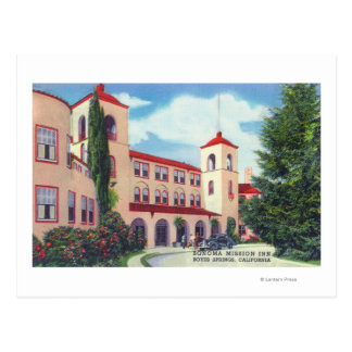 Exterior View of the Sonoma Mission Inn Postcard