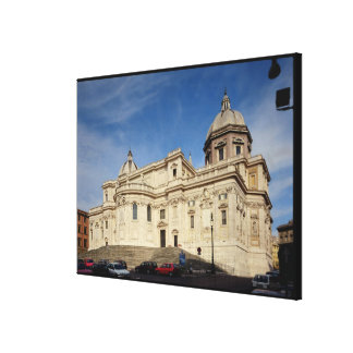 Exterior view of the tribune stretched canvas prints