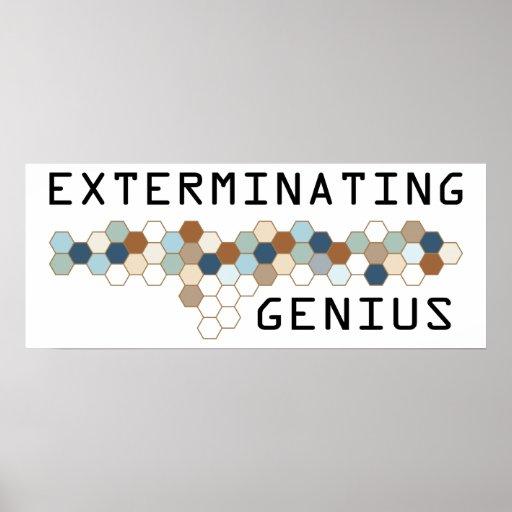 Exterminating Genius Poster