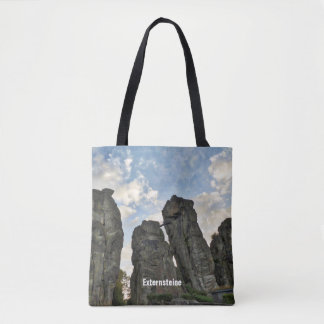 Externsteine in late afternoon 001.T.01 Tote Bag