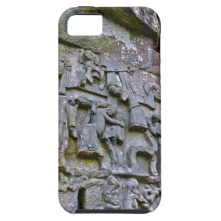 Externsteine, stone carving case for the iPhone 5