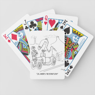 Extinction Cartoon 9325 Bicycle Playing Cards