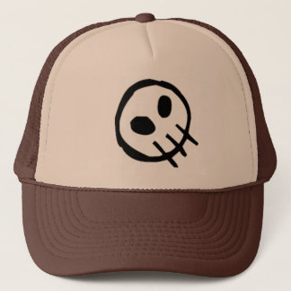 Extinction Logo Skull-Top Trucker Hat
