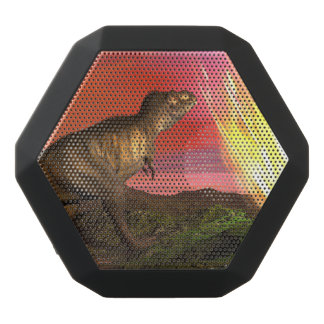 Extinction of dinosaurs - 3D render Black Bluetooth Speaker