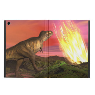 Extinction of dinosaurs - 3D render iPad Air Cover