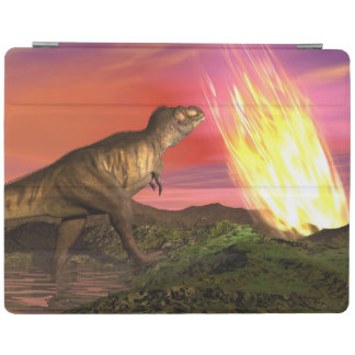 Extinction of dinosaurs - 3D render iPad Cover