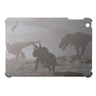 Extinction of dinosaurs - 3D render iPad Mini Cover