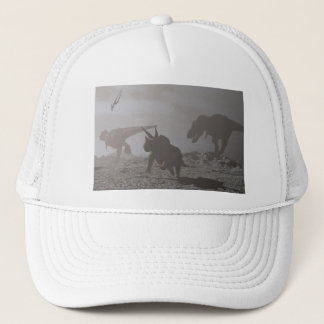 Extinction of dinosaurs - 3D render Trucker Hat