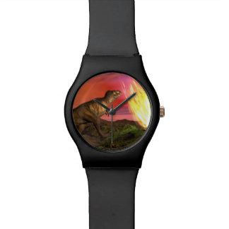 Extinction of dinosaurs - 3D render Watch