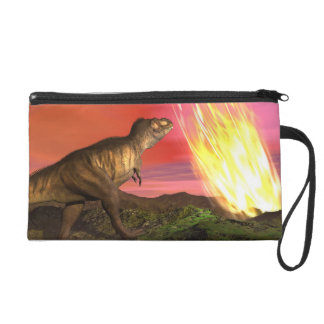 Extinction of dinosaurs - 3D render Wristlet