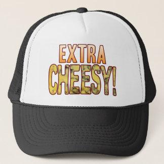 Extra Blue Cheesy Trucker Hat