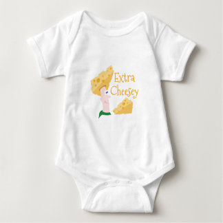 Extra Cheesy Baby Bodysuit