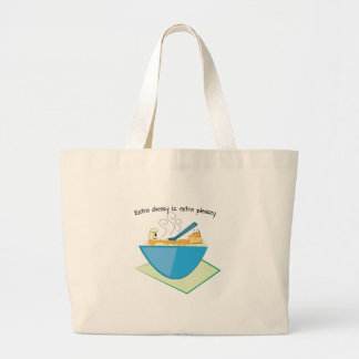 Extra Cheesy Extra Pleasey Tote Bags