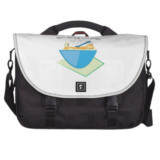 Extra Cheesy Extra Pleasey Laptop Commuter Bag