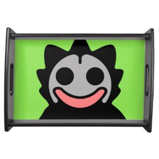 Extra-Dimensional Dada Alien Comix Clupkitz Serving Platter