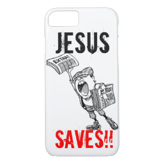 Extra, ! Jesus Saves!! iPhone 7 Case