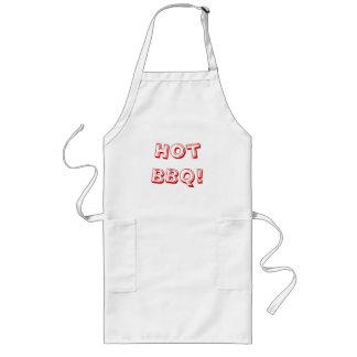 Extra long bbq apron