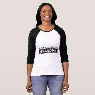 Extra most bestest grandma beautiful clothes T-Shirt