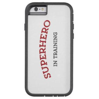 Extra Tough SUPERHERO in TRAINING iPhone Case