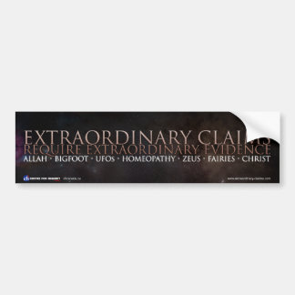 Extraordinary Bumper-sticker Bumper Sticker