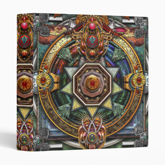 Extraordinary Celtic Mandala 3 Ring Binders