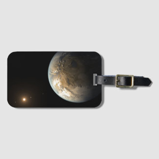 Extrasolar Planet Kepler 186f Bag Tag