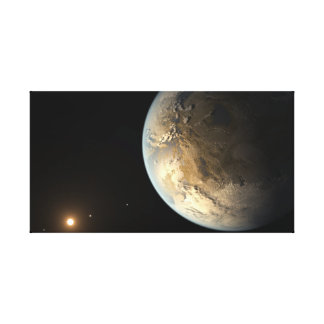 Extrasolar Planet Kepler 186f Canvas Print