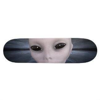 Extraterrestrial Alien Custom Skate Board