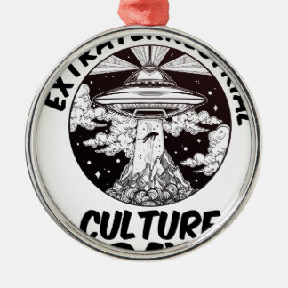 Extraterrestrial Culture Day - Appreciation Day Metal Ornament