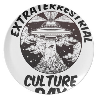Extraterrestrial Culture Day - Appreciation Day Plate