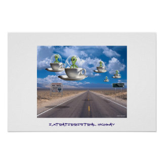 Extraterrestrial Highway Print