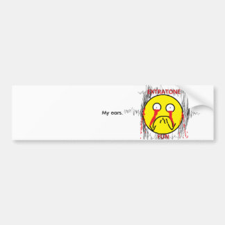 Extratone Fun Bumber Sticker Bumper Sticker