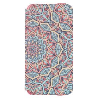 Extravagant Mandala Design Incipio Watson™ iPhone 6 Wallet Case
