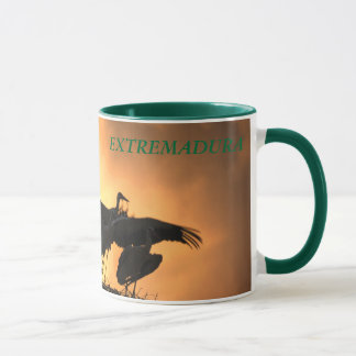 EXTREMADURA - Storks to the dusk Mug